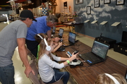 Simulators at Wings 'n Things - FAN Photos