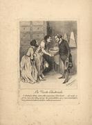 La Visite Electorale Daumier Le Charivari 4/8/1843