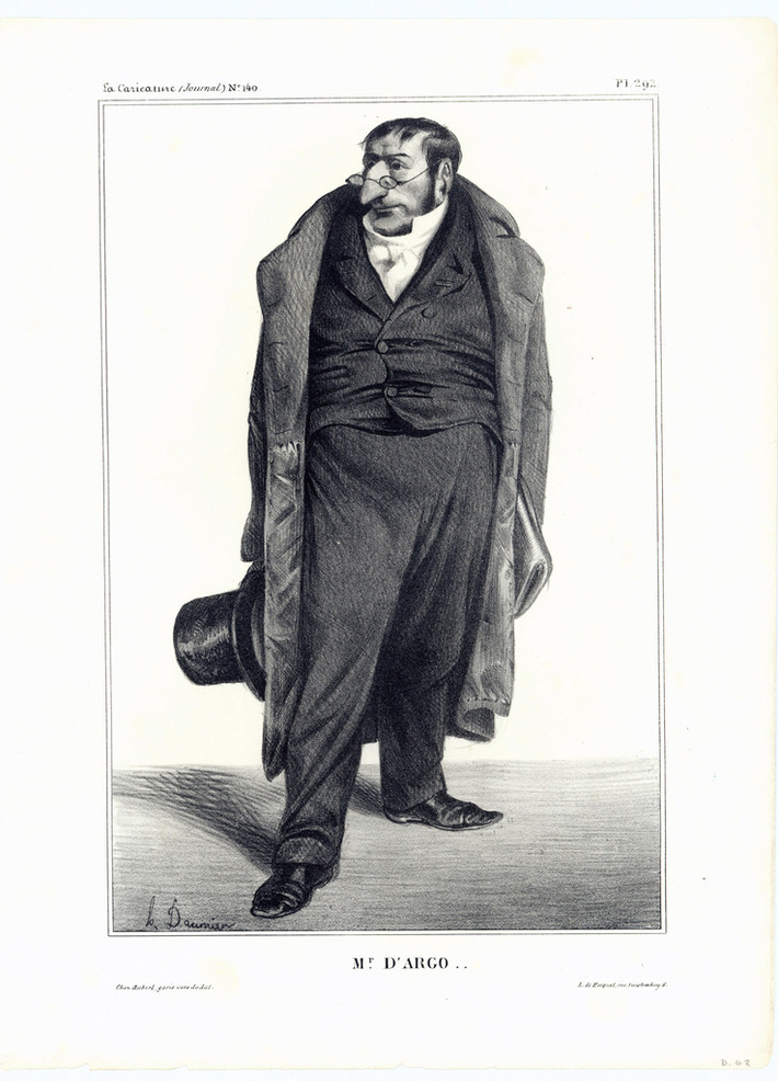 pl293 Issue N°140 7/11/1833 Honoré Daumier
