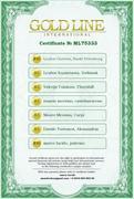 CertificateGoldLinemarcolucido