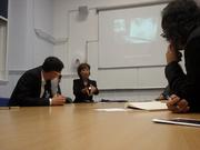 Lecture at St. Andrews University, Scotland