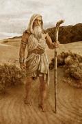 Moses LeadsIsrael - Stone version