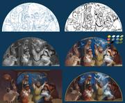 World Vision Christmas Nativity Art - Work in progress