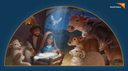 World Vision Christmas Nativity Art - Animals