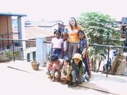 Maribel en la escuela de tsyrianomandidy