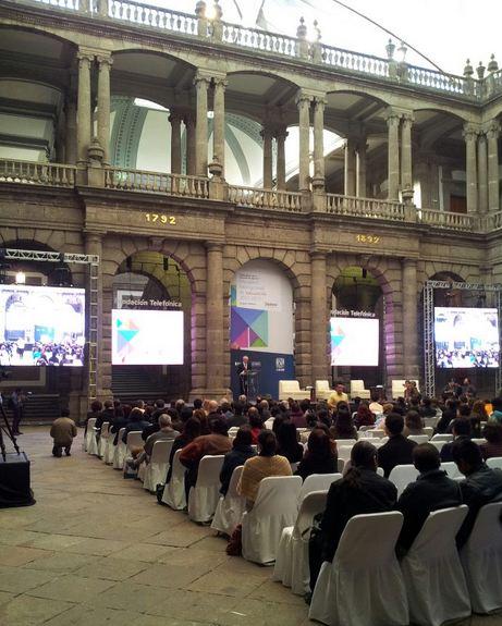 Presentación en México DF