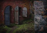 Suomenlinna bunker-detail