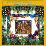 Christmas Without Christmas Card