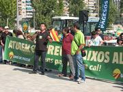 Manifestacion en Lleida por los precios bajos