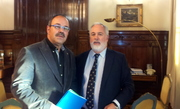 Primera reunión con el Ministro Arias Cañete