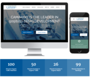 Camargo Pharma Website Design Project