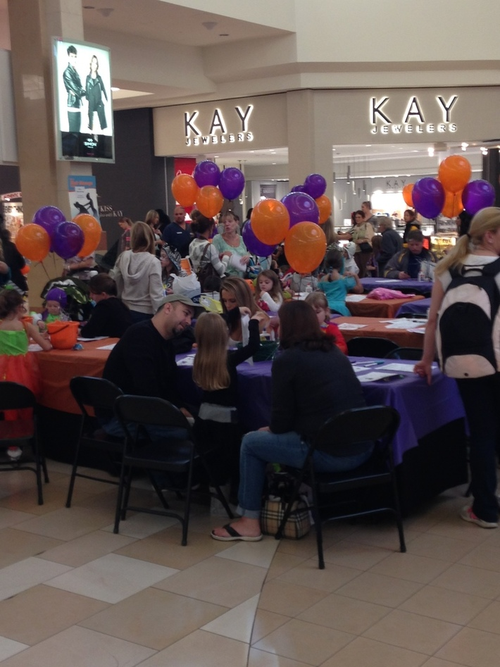 Mall-O-Ween at the Ocean County Mall in Toms River