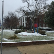 The First Snow in Downtown Toms River