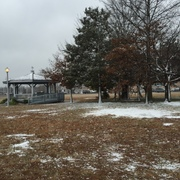 The First Snow in Toms River December 8, 2014