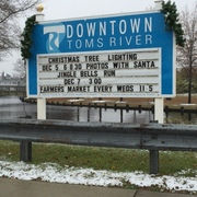 Downtown Toms River Schedule for December 2014