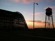 Sunrise over Hanger 1