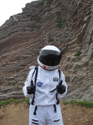 Kam the Astronaut in Spain!