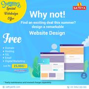 Summer Special Webdesign Offer - Sathya Technosoft