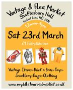 Vintage and Flea Market at Shaftesbury Hall