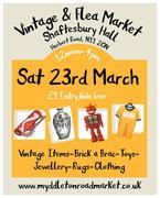 Vintage and Flea Market at Shaftesbury Hall