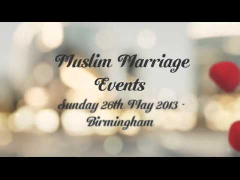 Muslim marriage events