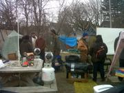 Occupy mke camp, November 2011