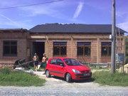 Reference - Ždánice - Montáž střechy - Vinotéka (08-2010)