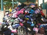 project backpack - hurricane katrina relief
