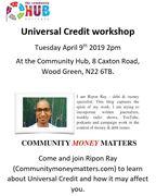 Universal Credit Workshop