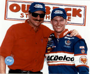 Dale Earnhardt Sr And Jr #3 & #88