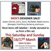 Men's Designer Sale - All Dogs Matter Charity Shop