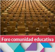Foro Comunidad Educativa: Tema 4