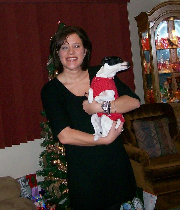 Myself and Miss Bell X-mas 07
