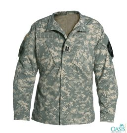 Camouflage Full Sleeve Uniform Shirt