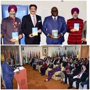 Sandeep Marwah at Book Release at Ghana High Commission