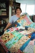Quilt I made for Charity