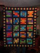 Beacher's Birthday quilt