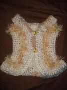 Geminique's crochet jacket