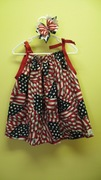 American Flag Pillowcase Dress