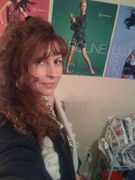 me in my sewing room
