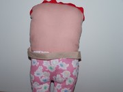Buggsy Silly Doll back with strap