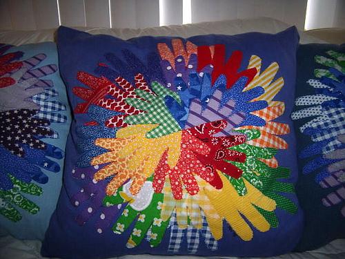 "Friendship hands ""pinwheel"""