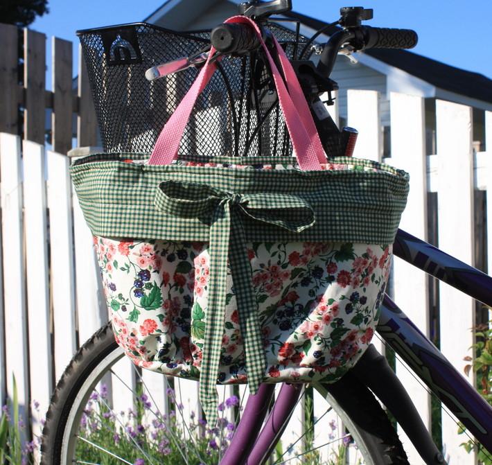 bike basket liner
