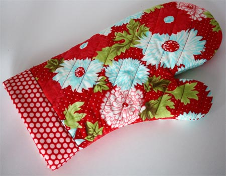 Oven Mitt Pattern & Tutorial