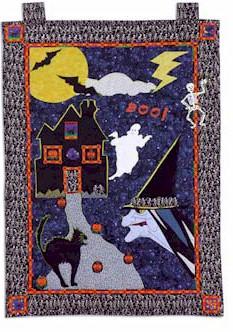 Halloween Doorhanging Quilt Pattern