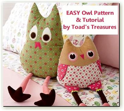Easy Owl Pattern and Tutorial