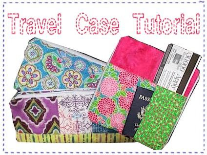 Sew a Travel Case - Tutorial by Stephanie