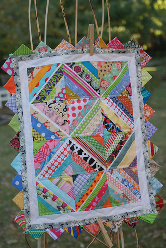 String Doll Quilt by Andie Johnson