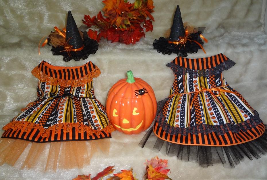 Halloween Doggie dresses 2011