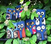 A flock of owl cases!